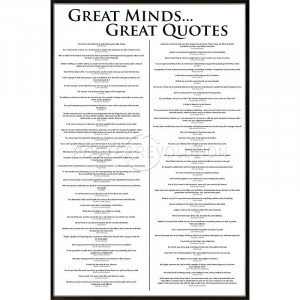 101 greatest movie quotes list art poster print 24x36