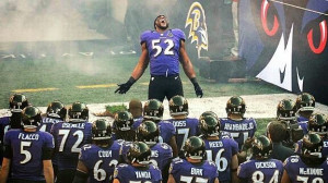 Ray lewis rallying the troops