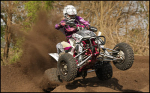 Fly Racing's Michelle Natalie - AMA ATV MX Women's Class Racer