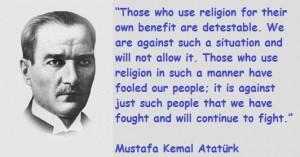 Mustafa kemal ataturk famous quotes 10
