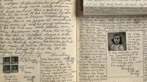 ... Anne Frank Center USA, discusses the diary of Anne Frank. Images