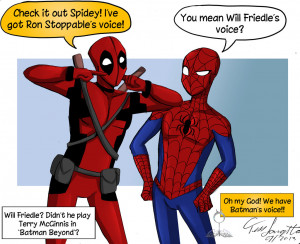 Deadpool And Spidey Voice