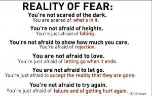 Reality of the Emotion Fear