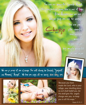 Custom Senior Yearbook Ad Design | Custom Graduation Invitations