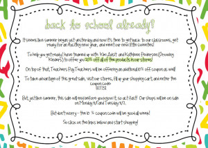 Inspirational Quotes For Teachers First Day Of School