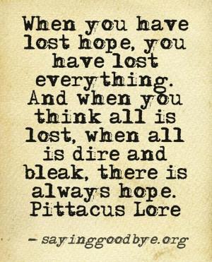 Babyloss #Hope #Bleak #Quote