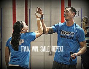 ... crossfit #crossfitdiamondstate #smile #community #quotes #motivation #
