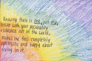 colorful, cute, postsecret, quote, typography