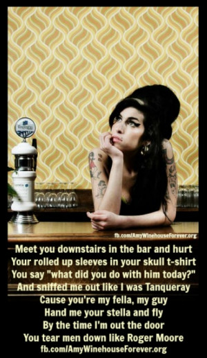 Amy Winehouse (You know that I'm no good)