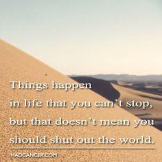 Stay Strong! #CancerSurvivor #Believe #Strength #Smile