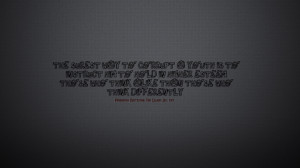Friedrich Nietzsche quote Wallpaper