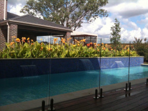 Glass Pool Fencing Brisbane, Semi Frameless Frameless Glass