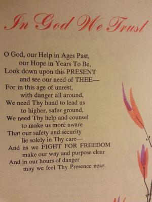 In God We Trust....