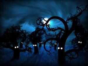 Funny Scary Trees