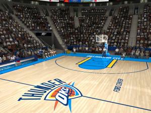 Oklahoma City Thunder Court