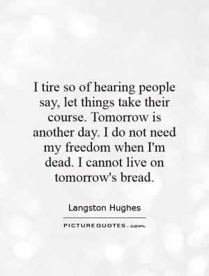Langston Hughes Quotes