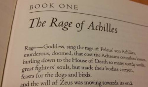 Achilles anger iliad essay