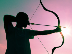 it helps to be in good physical shape when doing archery archery ...