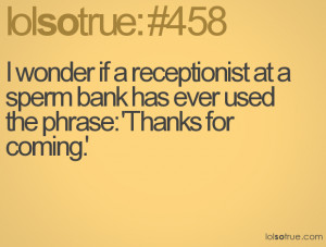 Receptionist Quotes Funny