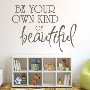 Beautiful Quote Women Girls Wall Sticker Design Art Decal Decoration ...