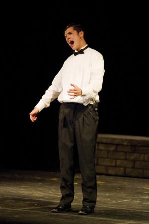 The Crucible Reverend Hale Player spotlight: adam glynn