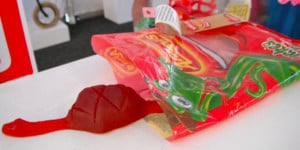 Satisfied Snake – A Well Fed Candy Treat (Sculptures by the Sea)