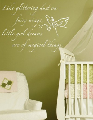 Fairy Wall Decal, Fairy Wall Stickers
