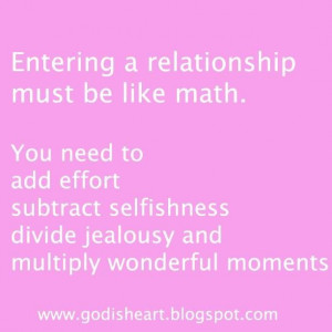 ... divide jealousy and multiply wonderful moments ~ best quotes & sayings