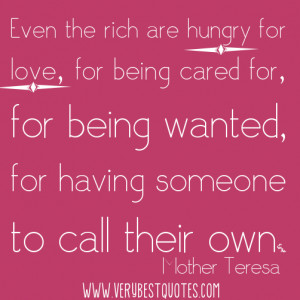 Mother Teresa Love Quote Image