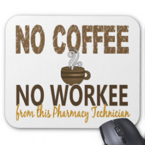 Funny Pharmacy Technician Mouse Pads