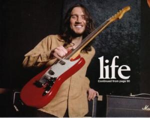 John Frusciante Guitar Strap John frusciante picture thread