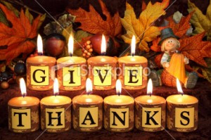 Give thanks to the LORD at all times!