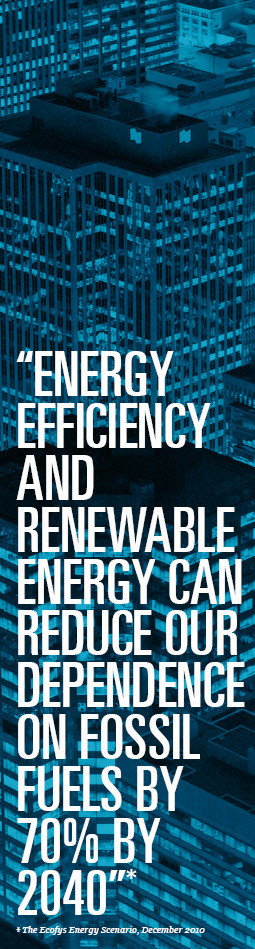 ENERGY EFFICIENCY AND RENEWABLE ENERGY CAN REDUCE OUR DEPENDENCE ON ...