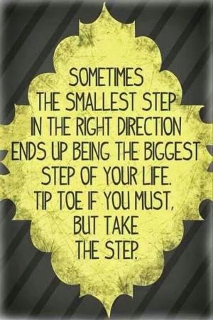 Tip toe tip toe