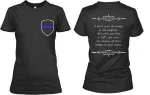 Law Enforcement, Cop, Police Officer, Thin Blue Line, LEO, Badge ...