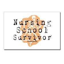 Nursing School Survivor Postcards (Package of 8) for