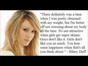Celebrity quotes about Eating disorders www.understandinganorexia.com ...