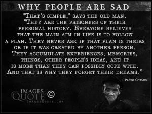 Why people are sad – Sad Quote