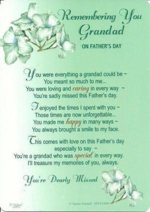 Grandfather - Awww! For my 2 grandpa's in heaven!