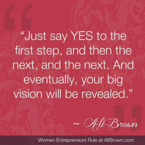 Say YES :-)