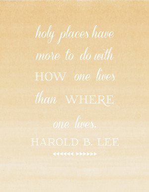harold b. lee love truth like this :)