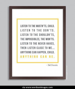 Quotes by shel silverstein