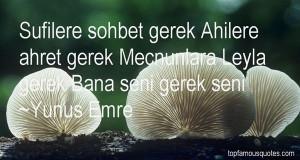 Favorite Yunus Emre Quotes