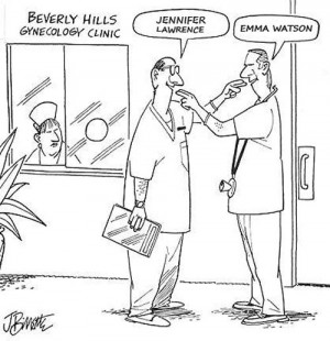 Perks of gynecologists…