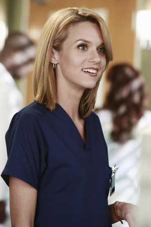 HILARIE BURTON AT GREY'S ANATOMY