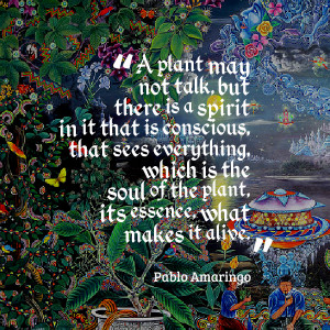 Quotes Picture: a plant may not talk, but there is a spirit in it that ...