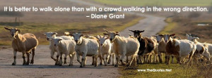 ... crowd walking in the wrong direction. – Diane Grant [851 × 315