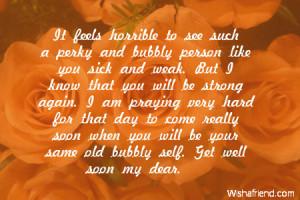 sick friend quotes quotesgram