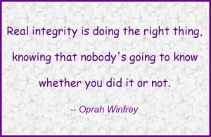 Doing the right thing... #quote