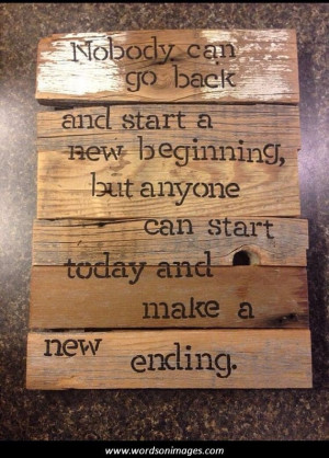 Inspirational quotes new beginnings